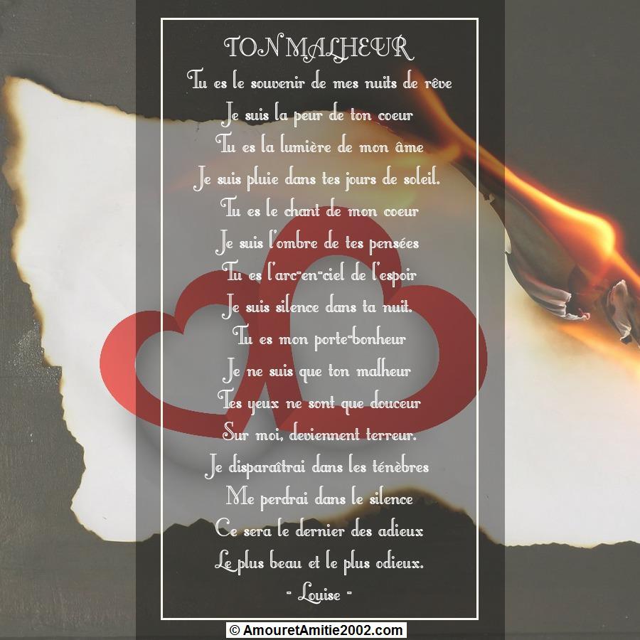 poeme du jour de colette 989116poeme134tonmalheur