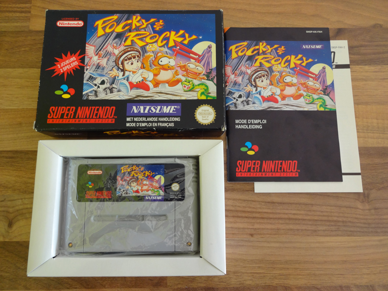 Prupru's Collection ! 100% Super Nintendo et 200% Super Comboy !! - Page 18 989408PockyRockyFAH