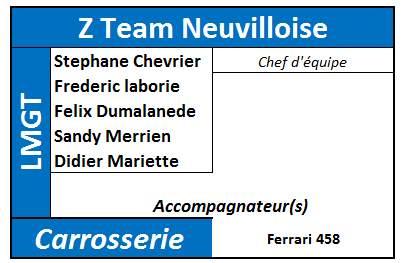 (31 mai - 1er juin 2014) - 24 HEURES DE MULSANNE 990213ZNeuville