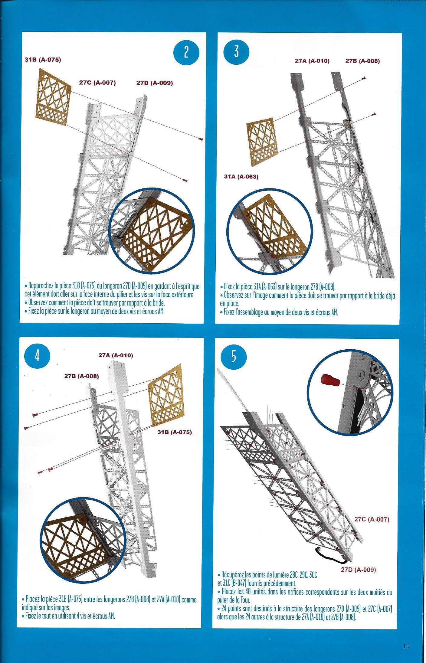 Numéro 31 - Je construis la Tour Eiffel - La fréquentation de la Tour (1/2) 99027931c
