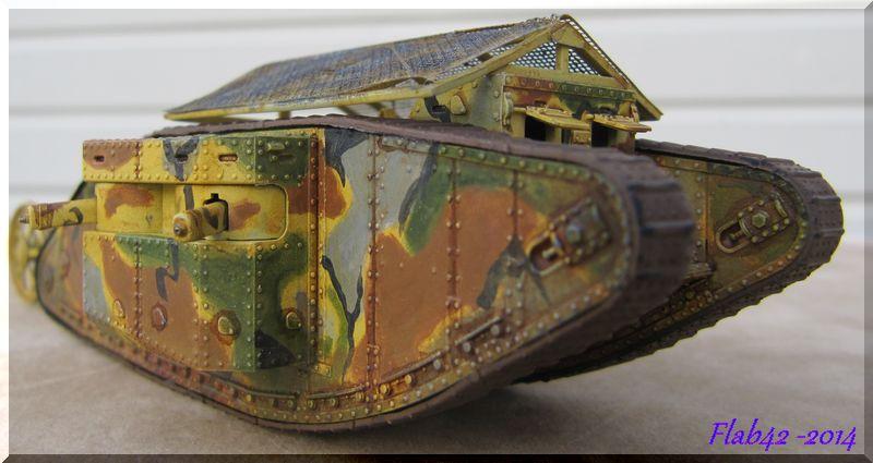 "MK I ""Female"" British tank - Bataille de la Somme 1916 - Master Box LTD - 1/72ème 991315fini8"