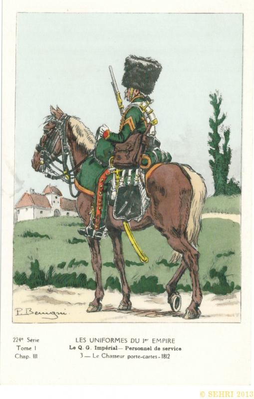 Les chasseurs à cheval de la Garde 991678ico2822