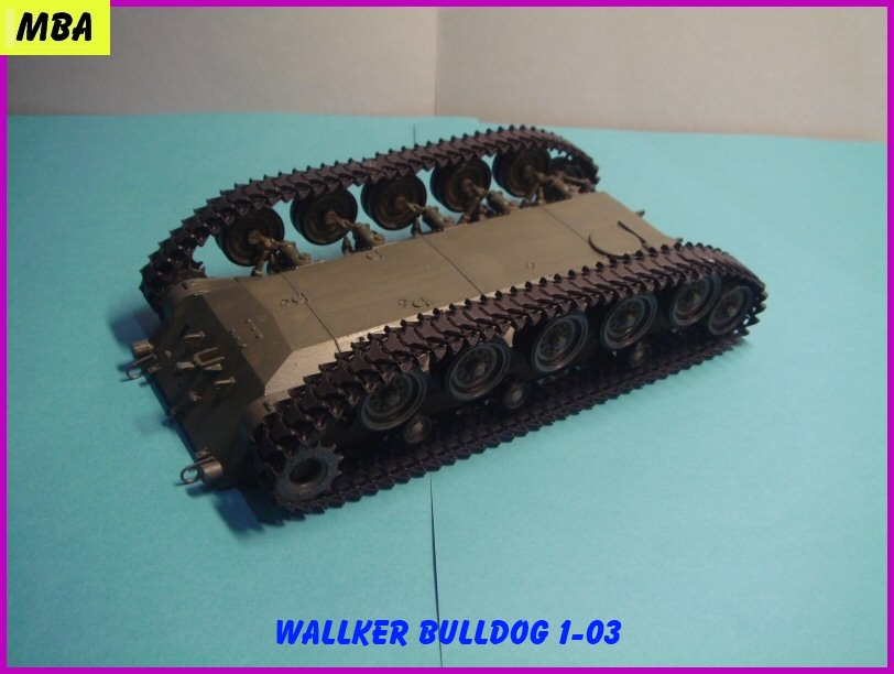 Le M41A3 light tank Wallker Bulldog au 1/35ème AFV club 992979WalterBulldog103