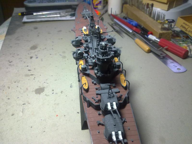 croiseur lourd Mogami au 1/350 par Pascal 94 - Tamiya  - Page 6 99464605122010972