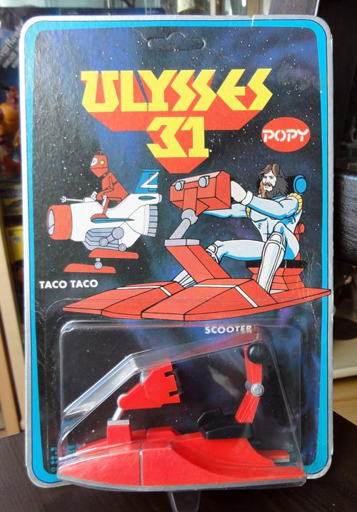 ULYSSE 31 : les jouets vintage et produits dérivés 997280ULYSSE31SCOOTERPOPY