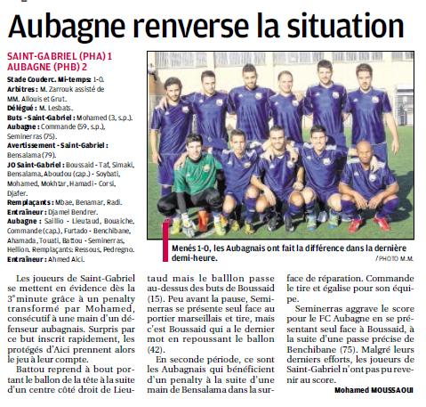 FC AUBAGNE // CFA2 GROUPE SUD EST  G - Page 6 997874706