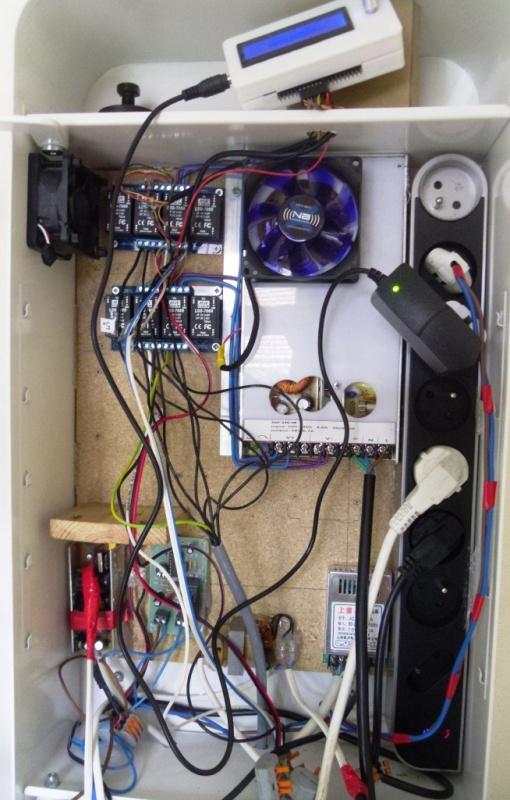 Problème et modification rampe led 998845SAM3807