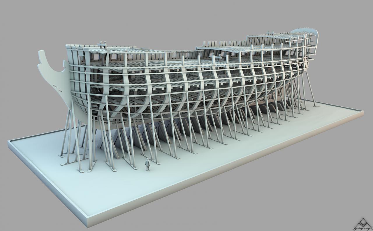 Etapes de construction 3D d'un navire de 74 canons. - Page 8 999328Navire74canonsR162