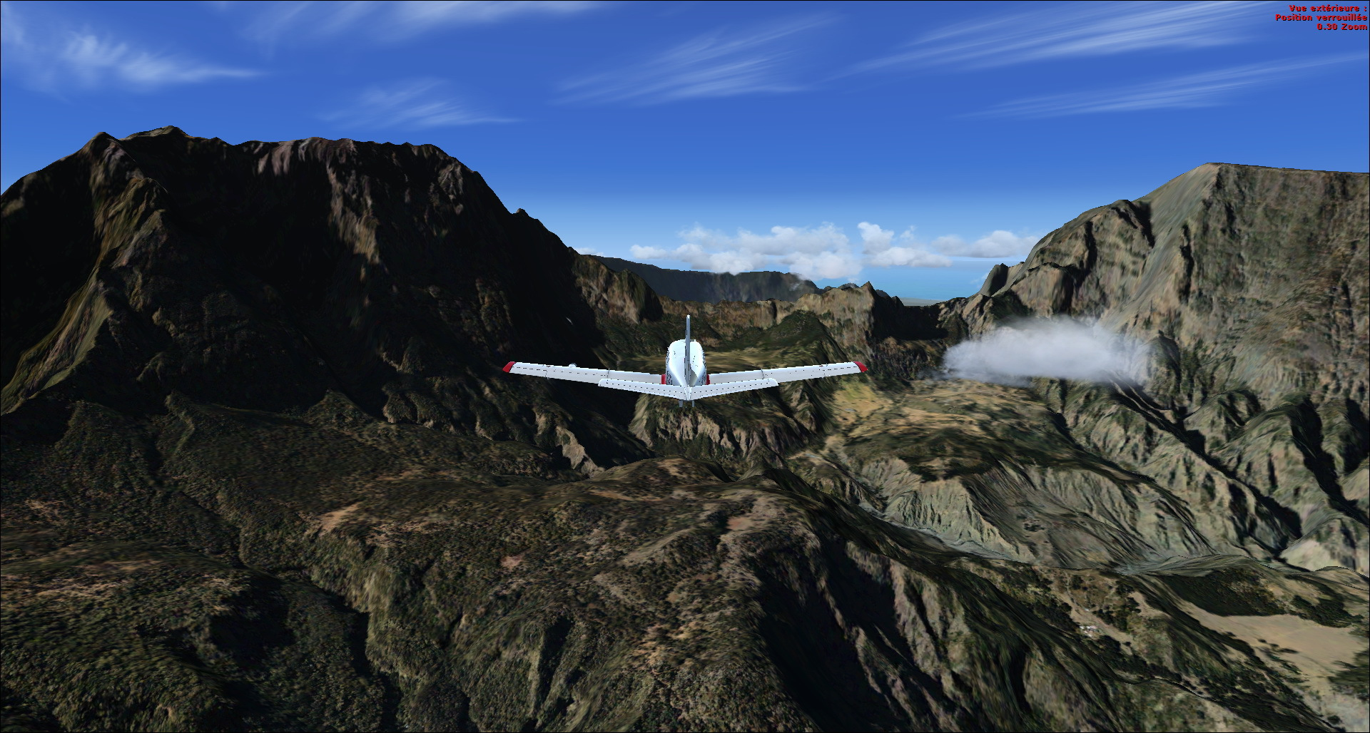 Survol de l'Ile de la Réunion 9999372014829205124589