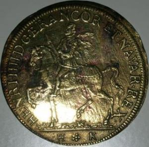 Pièce ou médaille ? Henri IV Mini_275134DSCN3474