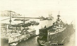 ROYAL NAVY CUIRASSE HMS ERIN  Mini_436894Erin