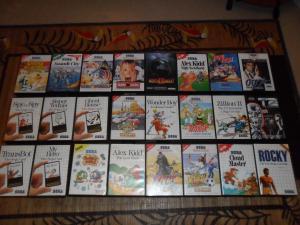 Ma petite collection de jeux Master System Mini_465788SAM0072