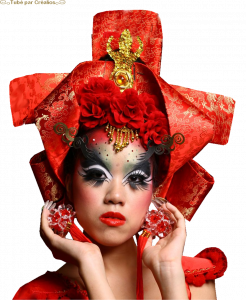 Asie-Visages - Page 8 Mini_471167Redfantasymakeup