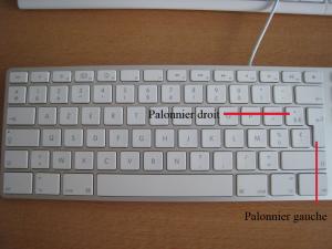 Le palonnier pour les utilisateur de MacBook. Mini_671607clavierapplealuazerty
