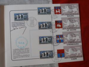 Normandie Niemen Plaquette avec autographe  Mini_701870PA060025