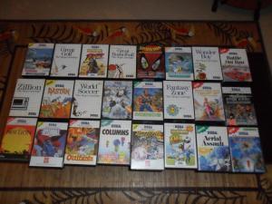 Ma petite collection de jeux Master System Mini_743380SAM0090