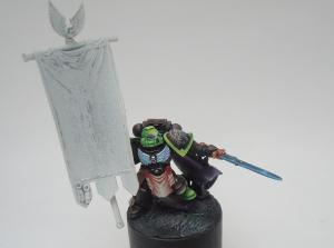 Aztec Warrios porte bannière Mini_908547SM34