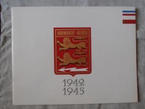 Normandie Niemen Plaquette avec autographe  Mini_958721PA060022