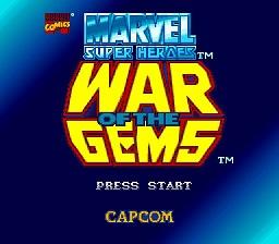 Marvel Super Heroes : War of the Gems - Fiche de jeu Mini_967263261