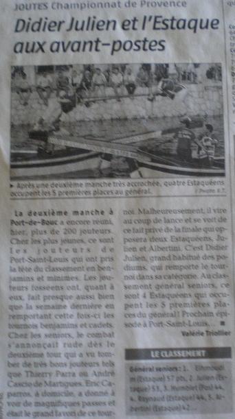 SPORTS ET LOISIRS ... MEDITERRANEENS - Page 2 114716IMGP5155