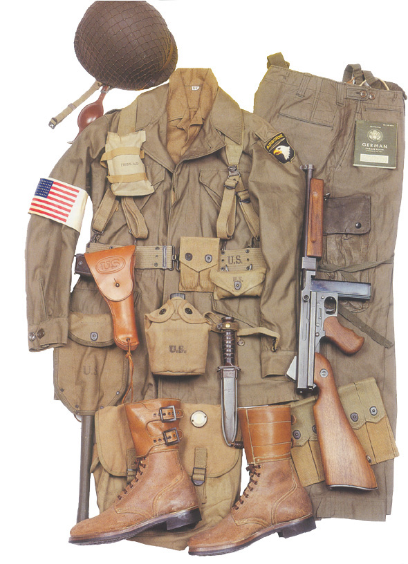 Soldat 101 ème Airborne(U.S) 173829m43uniform5wm