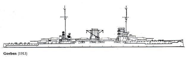 ALLEMAGNE CROISEURS DE BATAILLE CLASSE MOLTKE 182127classe_Moltke_4