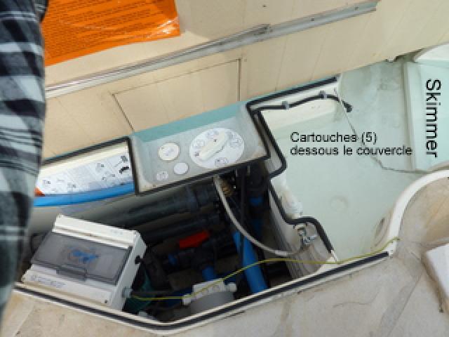 Problème de filtration cartouche 246696P1000373