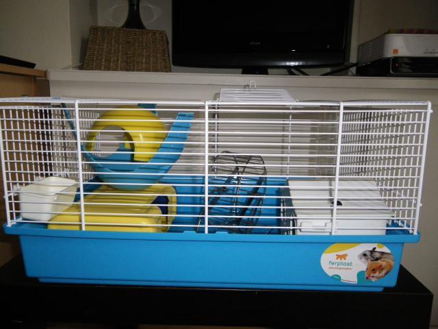 Cage rongeur + accessoires 247738IMGP0424