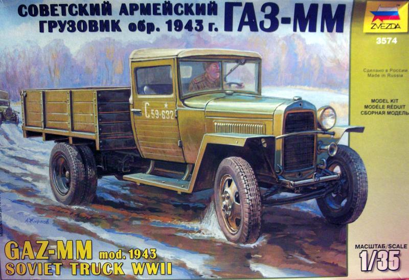 Camion Russe GAZ-MM de 1943 Zvezda 1/35 264352HPIM1718