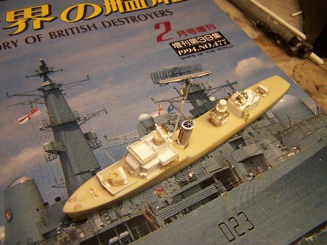 Hms Warspite airfix 1/600 - Page 3 279844hmswarspite090