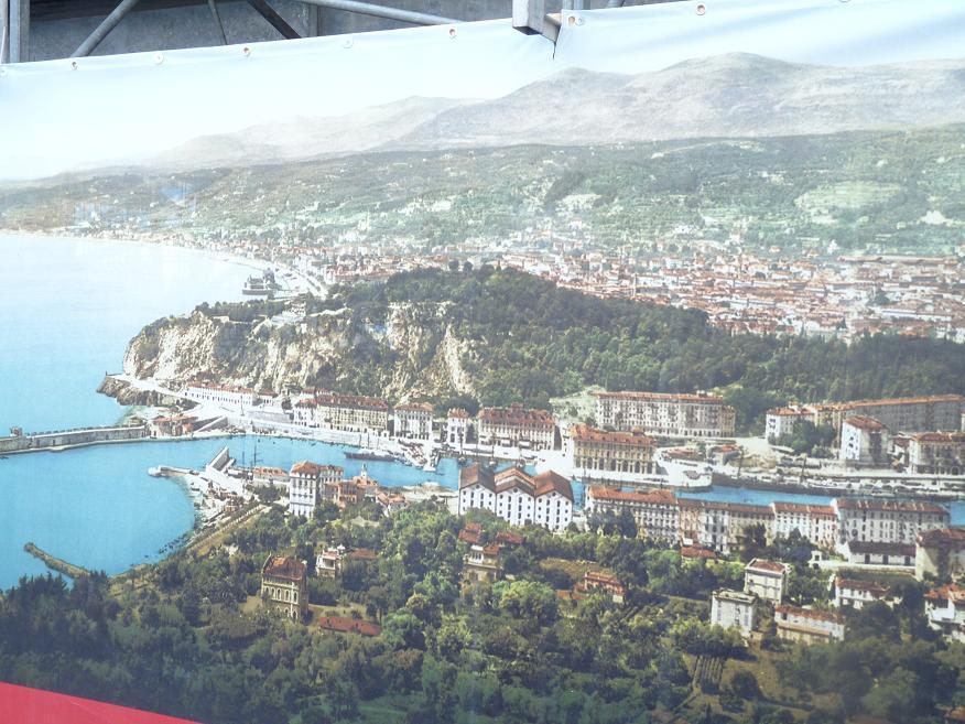 """UN PARFUM D"""" ITALIE :NISSA BELLA FAIT SON CARNAVAL DEVANT DES MERLUS DECON(FETTIS) FITS 1 A 0 280090P1050992"""
