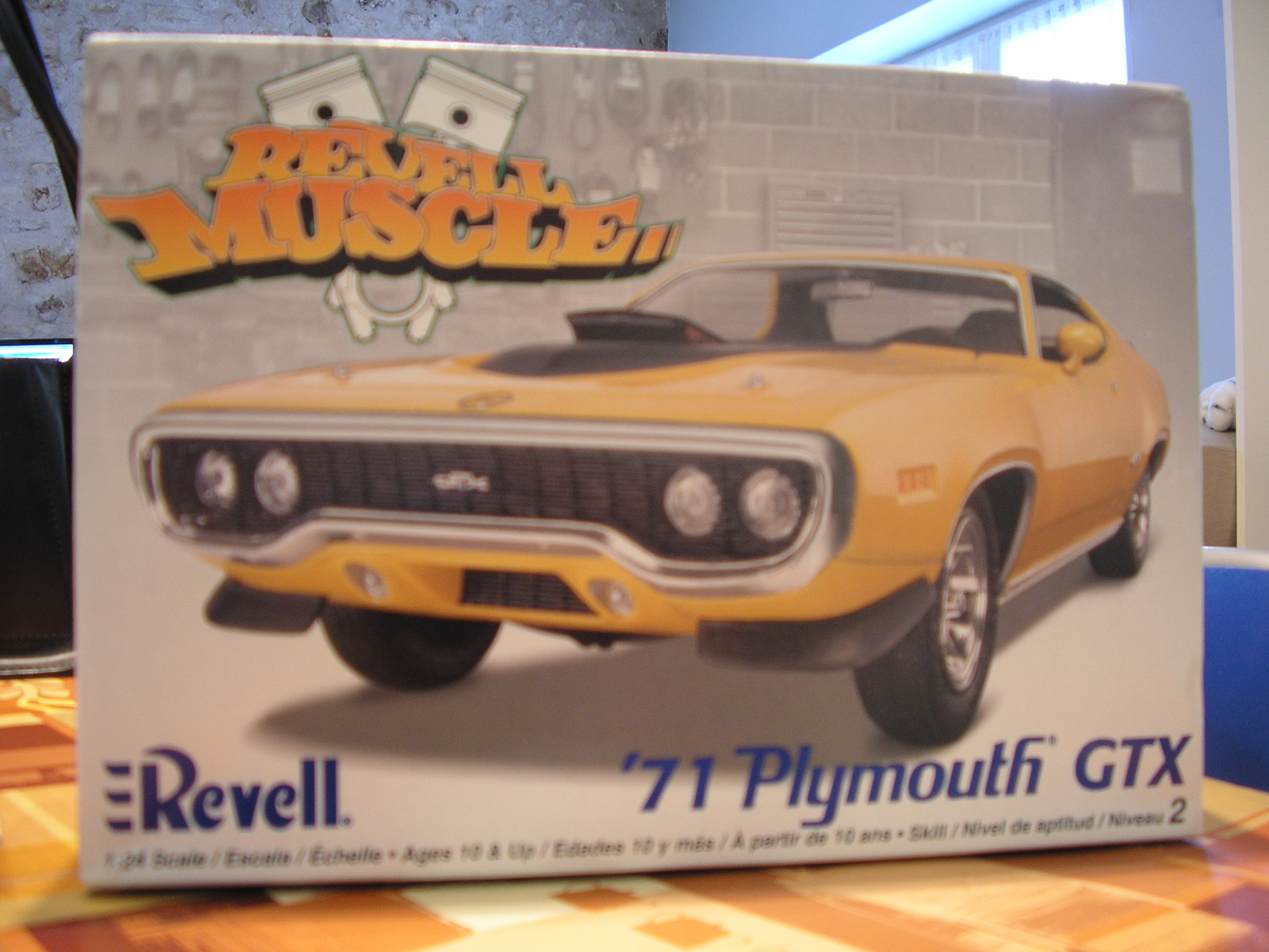 """plymouth 71 GTX """"FINI"""" 340574P1263232"""