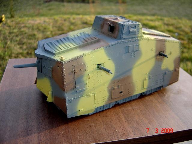 A7V [TAURO MODEL 1/35e] Le premier Panzer 348093mars_042