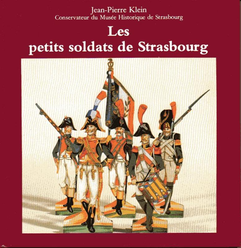Chasseurs dans livre sur petit soldat en papier 38039PetitsSoldatsStrasbourgJPKlein_MuseeHisto_