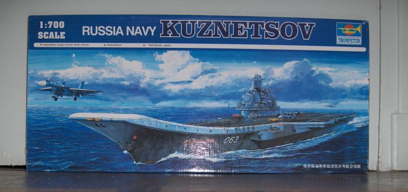Kuznetzof 1/700   Trumpeter 40152rv1