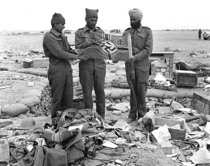 Soldat Indien en Lybie. 449793ishnf