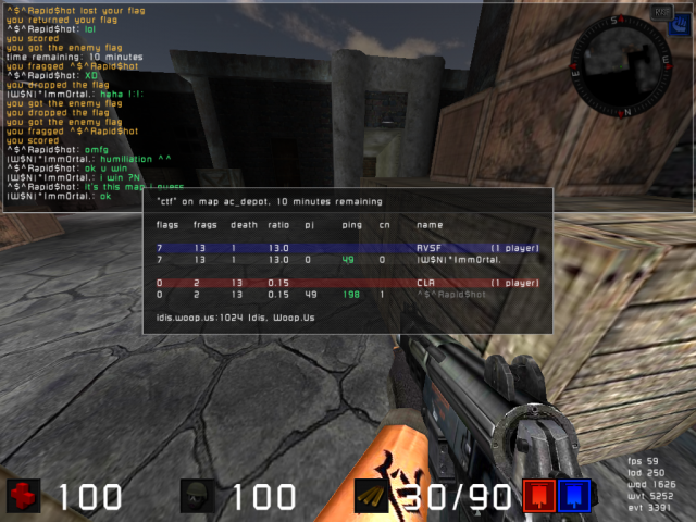 Match VS ^$^ ... 1vs1 46235720090416_08.27.36_ac_depot_CTF