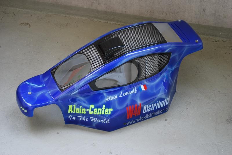 La carrosserie de mon MCD race runner 463697carrorace1