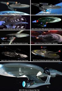 Les vaisseaux 464135star_trek_evolution_of_the_uss_enterprise