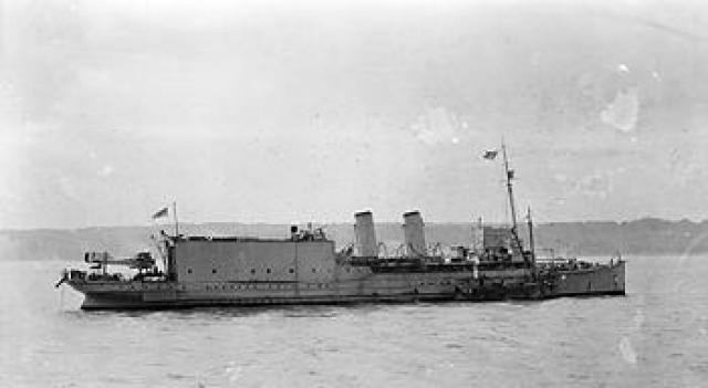 ROYAL NAVY PORTE AVIONS HMS FURIOUS 467086HMS_Engadine