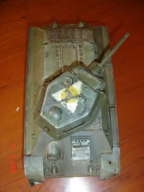 T-34 modèle 43 [Zvesda/Revell 1/35e] - Page 2 512861juin_2009_006