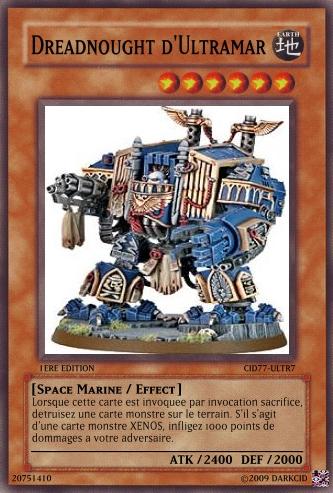 Crossover : Warhammer 40K  -vs- YGOh! 516471Ultra_Dread