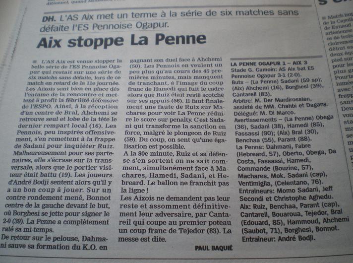 Pays d'Aix FC  AIX-EN-PROVENCE // PH  - Page 2 605982IMGP9730