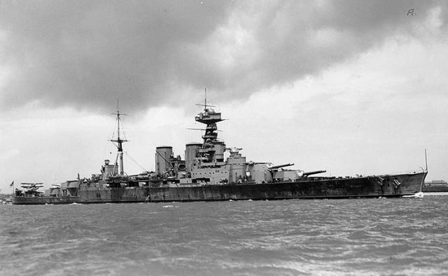 JAPON PORTE-AVIONS CLASSE UNRYU 709380British_Battlecruiser_HMS_Hood_circa_1932