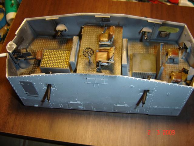 A7V [TAURO MODEL 1/35e] Le premier Panzer 72272fevrier_033