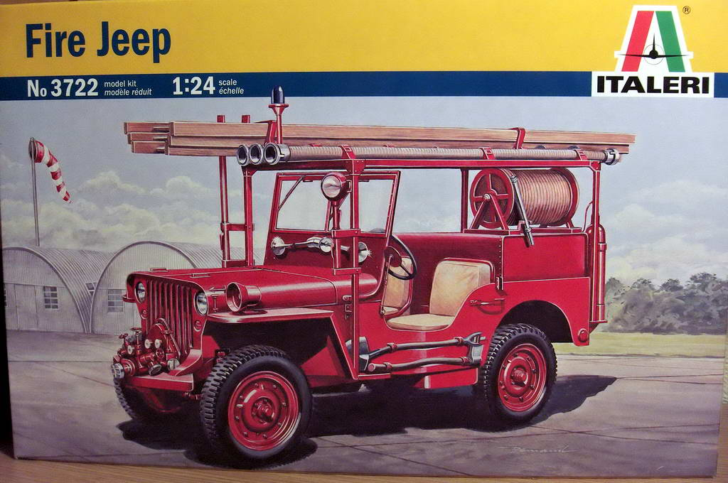 Fire Jeep 1/24 Italeri 741331HPIM0714