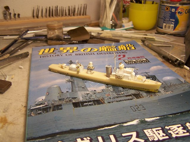 Hms Warspite airfix 1/600 - Page 3 778395hmswarspite086