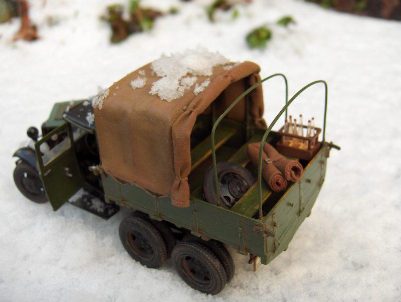 Camion Russe  GAZ-AAA 1934/1943 Zvezda 1/35 terminé!!! 839101HPIM1729