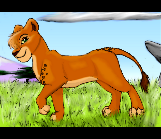 Mirage, Crazy Lioness (Oh une vache!Faut pas l'ecraser!) 88453SIGNA_BAARI