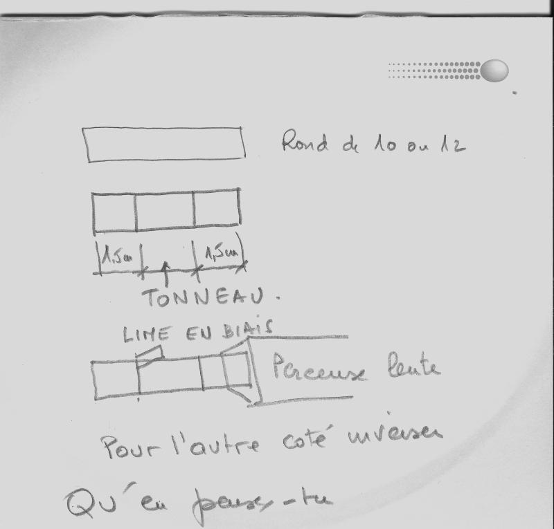 tranche du uss constitution scratch bois au 1/93 ème 908713Faire_un_tonneau